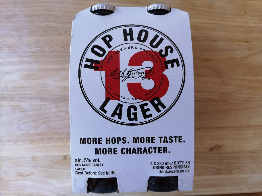 Hop House 13 Lager 4 x 330ml Bottles
