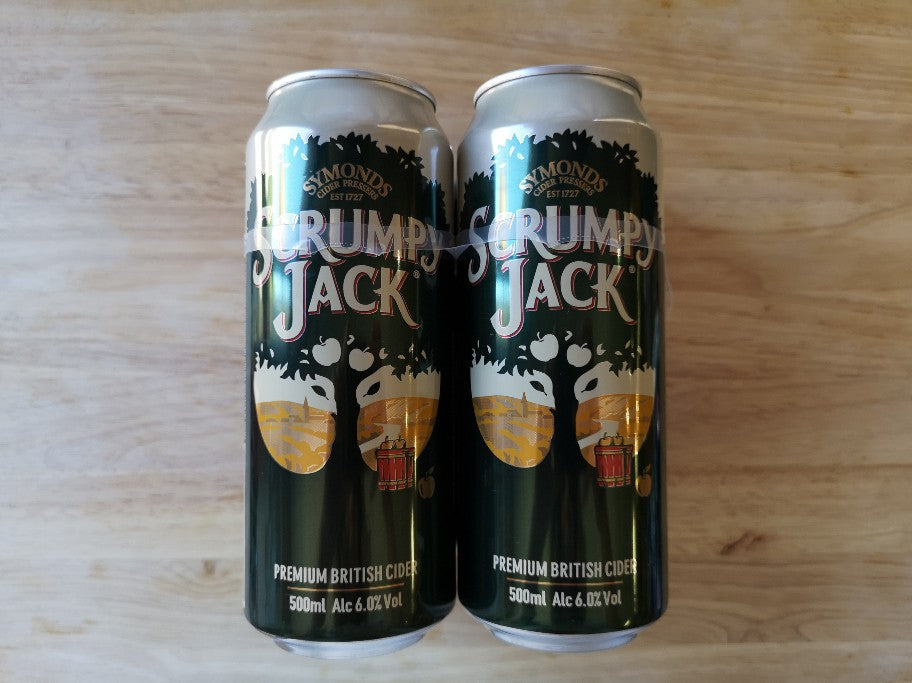 Scrumpy Jack Cider 500ml SINGLE CAN