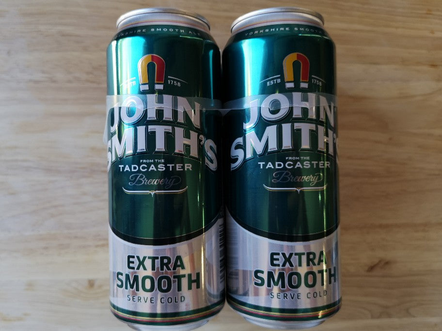 John Smiths Extra Smooth Ale 500ml SINGLE Can
