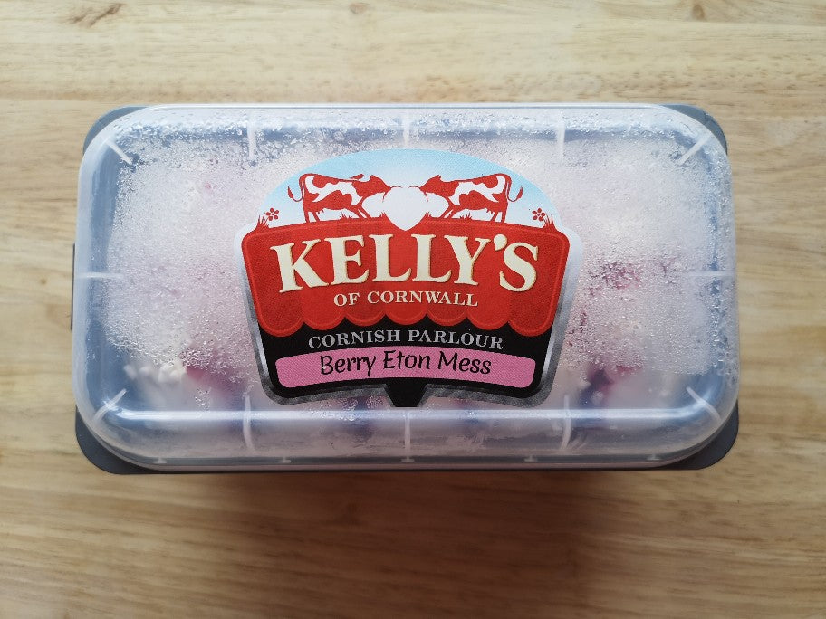 Kellys Cornish Parlour Eton Mess Ice Cream 950ml