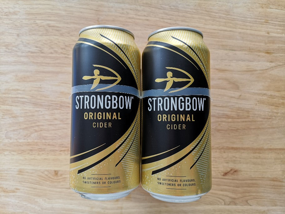 Strongbow Can 4 x 440ml Pack