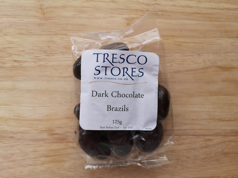 TS Dark Chocolate Brazils 125g