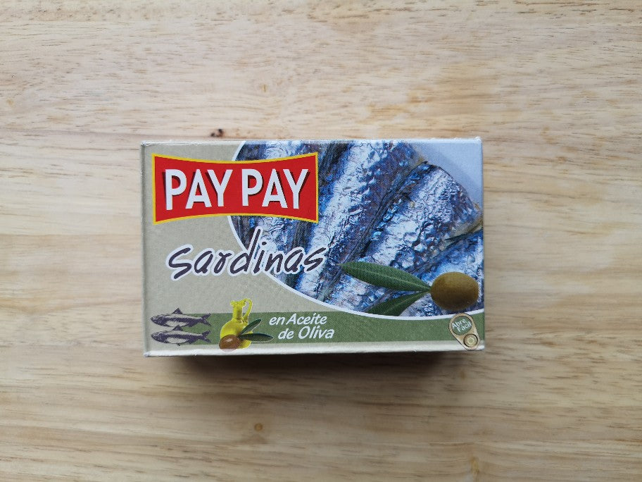 Pay Pay Sardines in Olive Oil Tin 120g