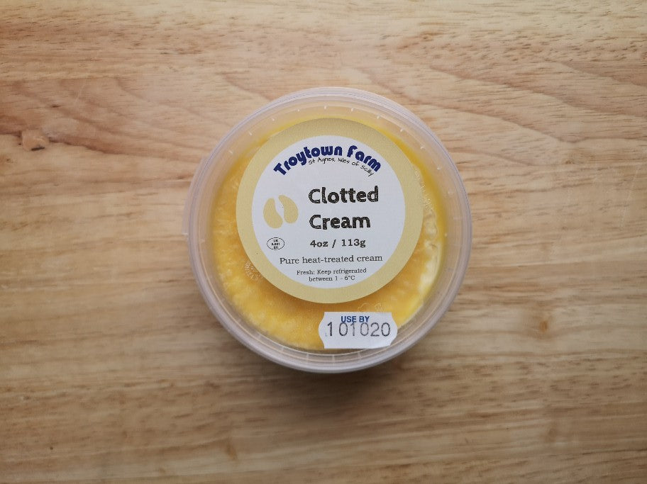 Troytown Farm Local Clotted Cream 113g