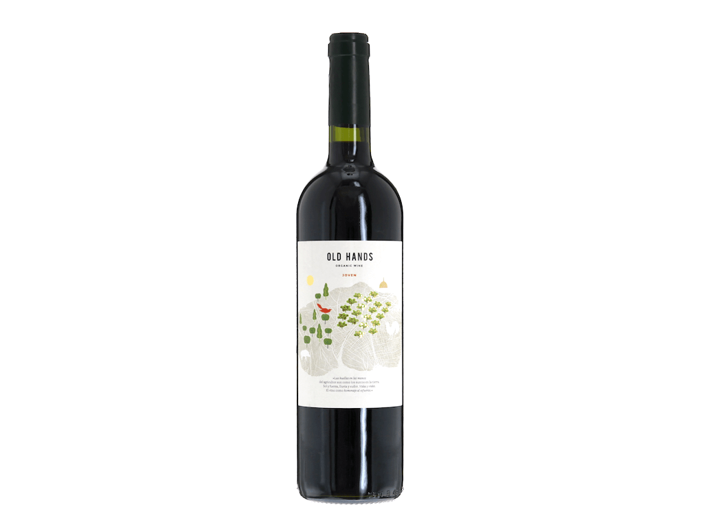 Old Hands Organic Joven Spanish Red Wine