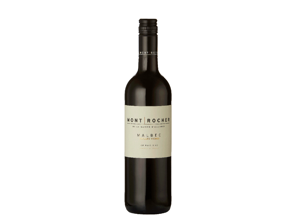 Mont Rocher Malbec French Red Wine