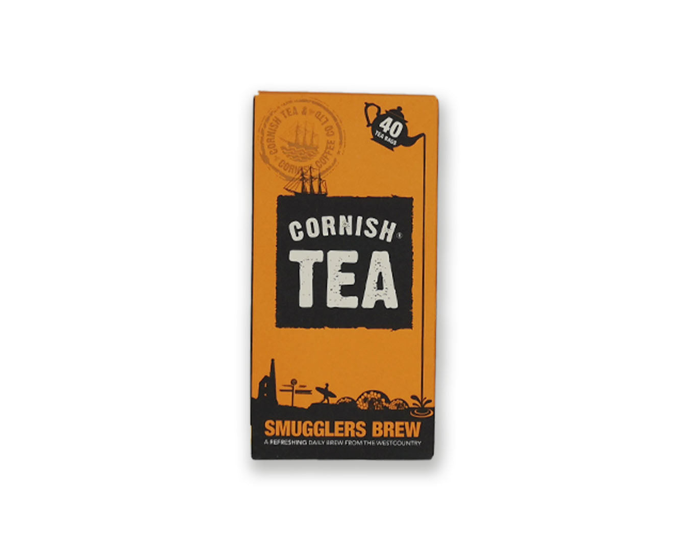 Cornish Tea Smugglers Brew 40 Tea Bags