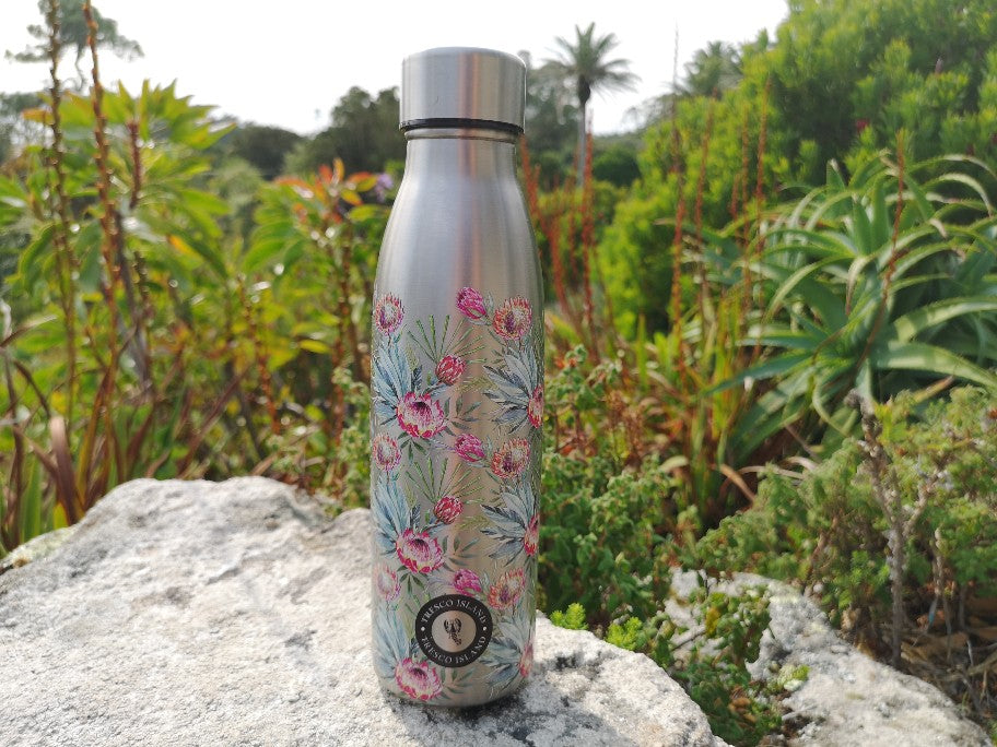 Tresco Island Protea Insulated Water Bottle