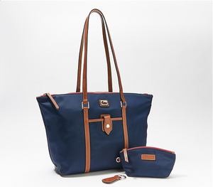 Wayfarer Nylon Tote with Accessories