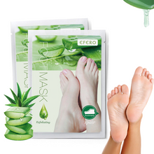 Load image into Gallery viewer, Exfoliating Scrub Pedicure Spa Socks Foot Peel