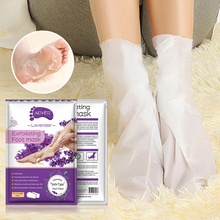 Load image into Gallery viewer, Exfoliating Scrub Pedicure Spa Socks Foot Peel (1 Pairs)