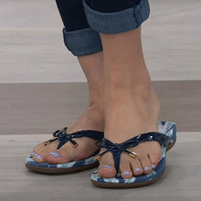 Load image into Gallery viewer, 2020 Hot Sale Arch Support Leather Thong Sandals Standard Width 49% OFF