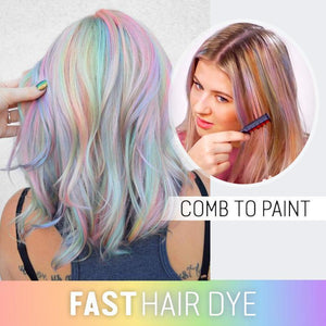 Comb-On Hair Color