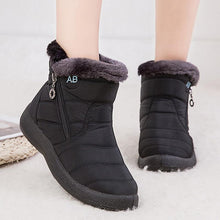 Load image into Gallery viewer, Ankle Boots For Women Boots Fur Warm Snow Boots