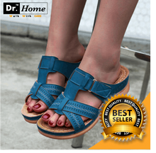 Load image into Gallery viewer, Dr. HOME™ - PREMIUM ORTHOPEDIC FEET ALIGNMENT OPEN TOE WOMEN SANDALS