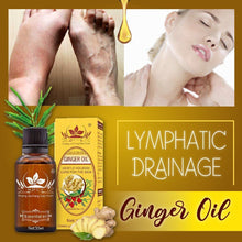 Load image into Gallery viewer, Lymphatic Drainage Ginger Oil