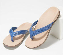 Load image into Gallery viewer, 2020 Hot Sale Leather Thong Sandals - Tide Sally