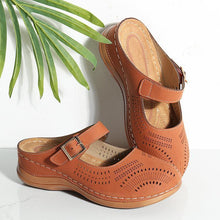 Load image into Gallery viewer, Women's Fashion Hollow Flat Sandals*NEW*