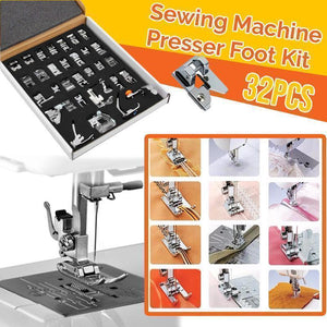 🔥Only $15.99 Last Day🔥Sewing Machine Presser Foot Kit