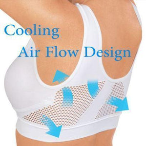 InstaCooling Elastic Breathable Bra