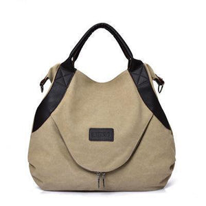 Womens Canvas Messenger Bag