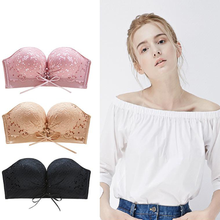 Load image into Gallery viewer, New Invisible Strapless Push Up Bra