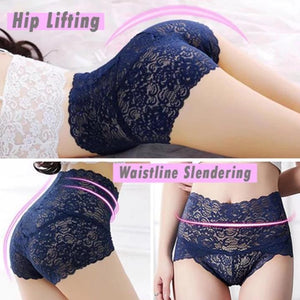 【4 Pieces set】Seamless Lace Panty - Buy 2 Free Shipping
