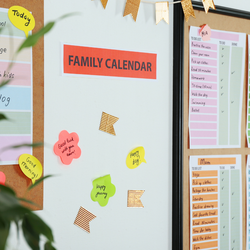 Our Favorite Printables to Keep Your Family Organized