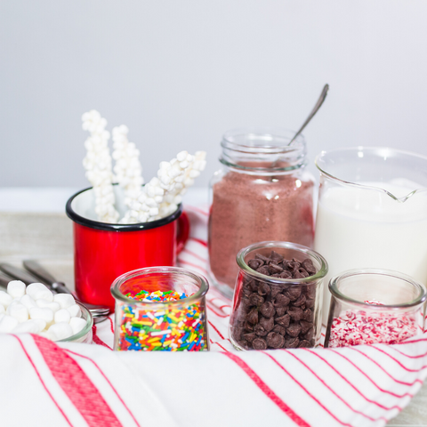 Make a hot chocolate station