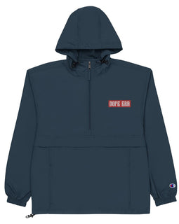 Dope Era Embroidered Champion Packable Jacket - Coats &
