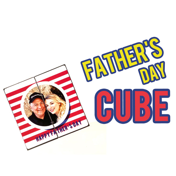 Father's Day cube
