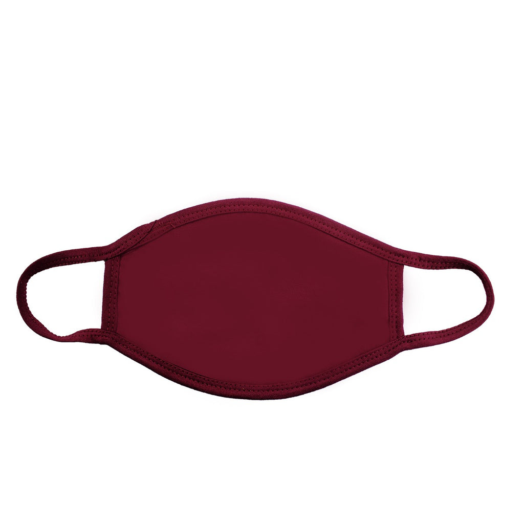 Burgundy Face Cover (CASE OF 1000 PCS) - Circle Clothing LLC