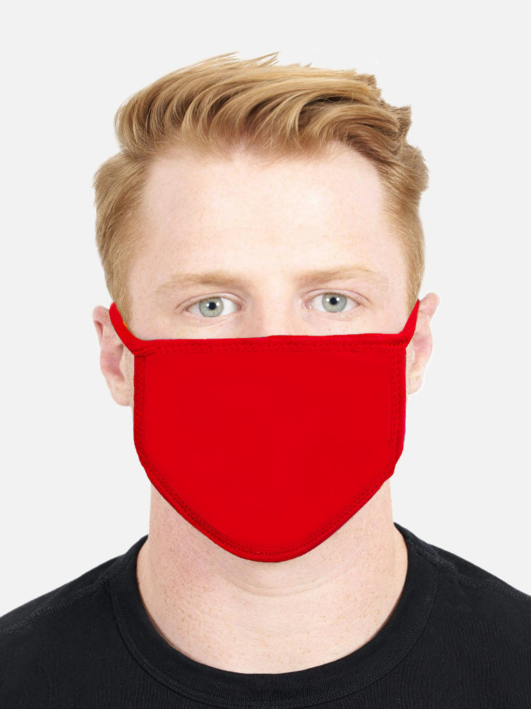 Red Face Cover (CASE OF 1000 PCS) - Circle Clothing LLC