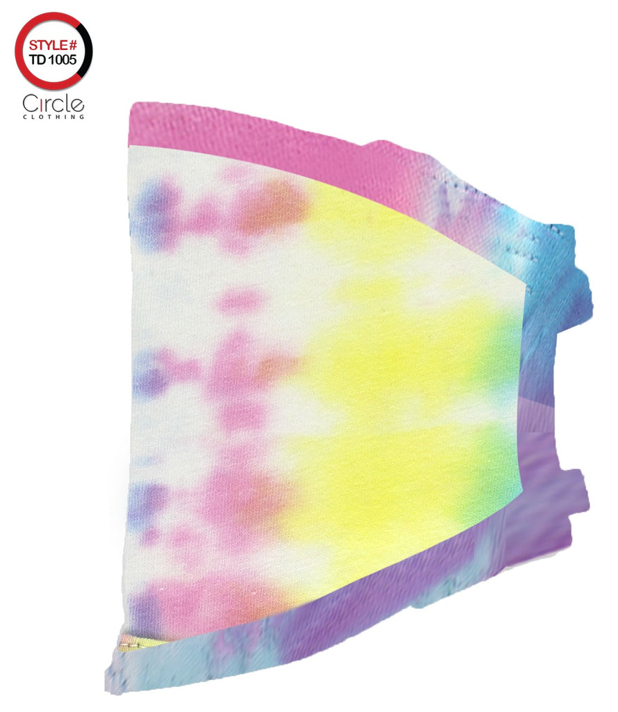 Tie Dye Face Cover TD-1005 - Circle Clothing LLC