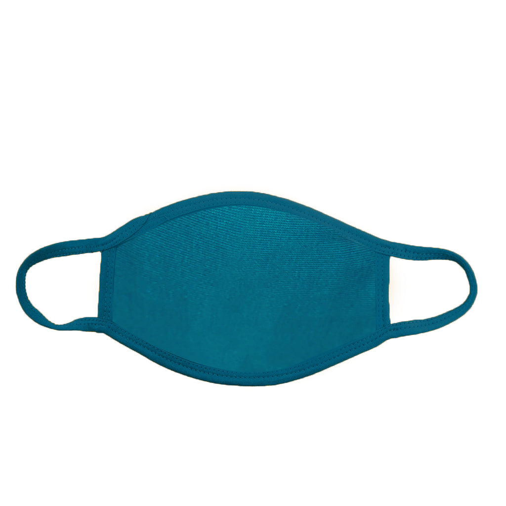 Turquoise Face Cover (PACK OF 25 PCS) - Circle Clothing LLC