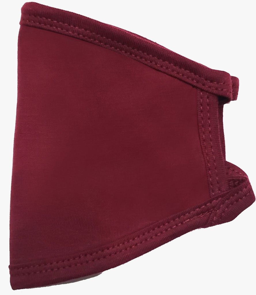 Burgundy Face Cover (PACK OF 25 PCS) - Circle Clothing LLC