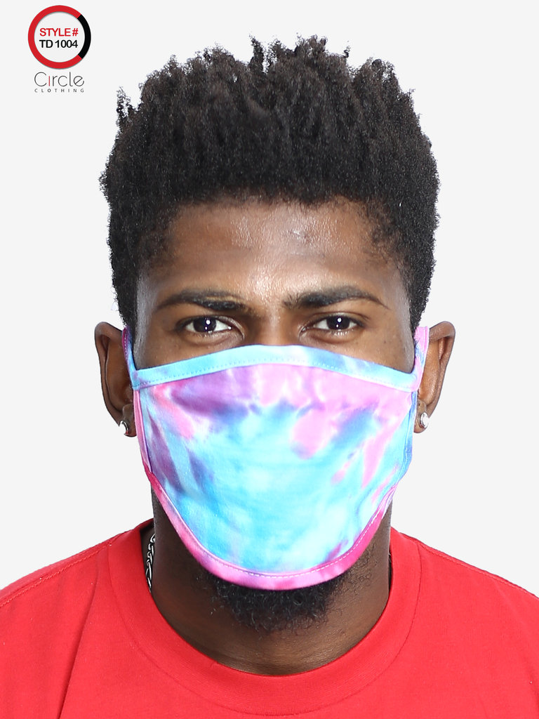 Tie Dye Face Cover TD-1004 - Circle Clothing LLC