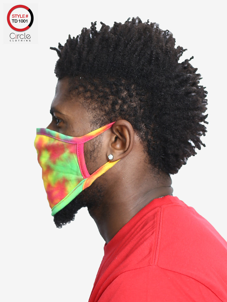Tie Dye Face Cover TD-1001 - Circle Clothing LLC