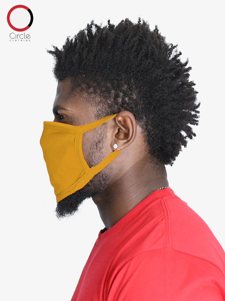 Gold Face Cover (PACK OF 25 PCS) - Circle Clothing LLC