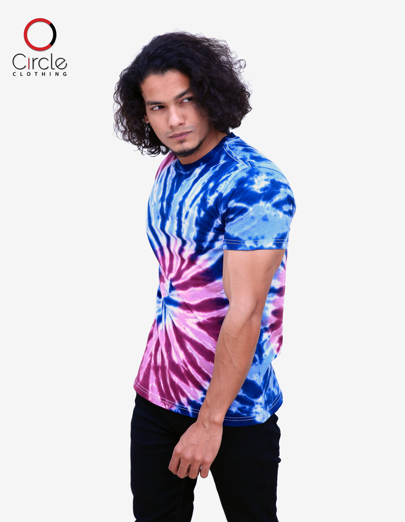 Tie Dye T Shirt - TDT 1002 - Circle Clothing LLC
