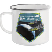 Metal Camp Mug: 36th Space Symposium