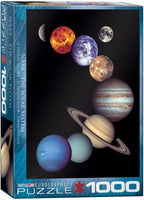 NASA The Solar System Puzzle- 1,000 pc.
