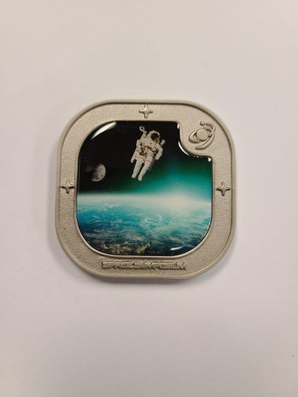 Space Symposium Challenge Coin
