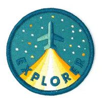 Patch: Explorer Embroidered