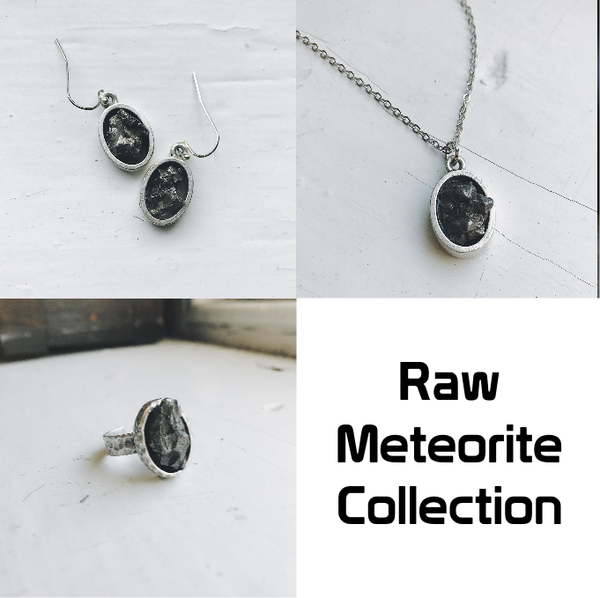 Jewelry: Campo del Cielo Raw Meteorite Collection