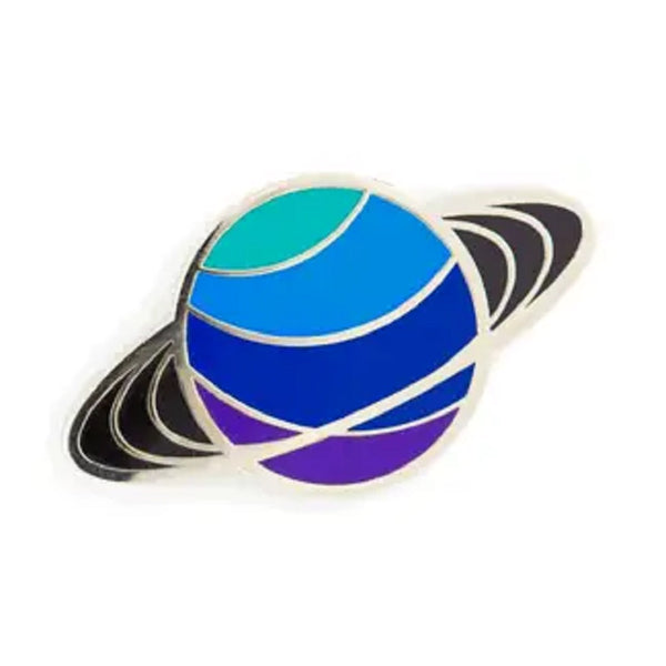 Enamel Pin: Saturn