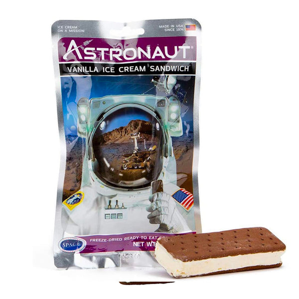 Freeze-Dried Astronaut Foods Ice Cream