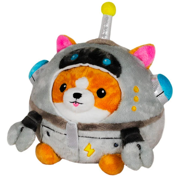 Squishable Undercover Corgi in Robot Costume