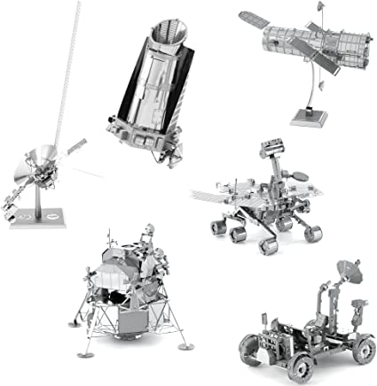 Space Metal Earth 3D Sculpting Kits
