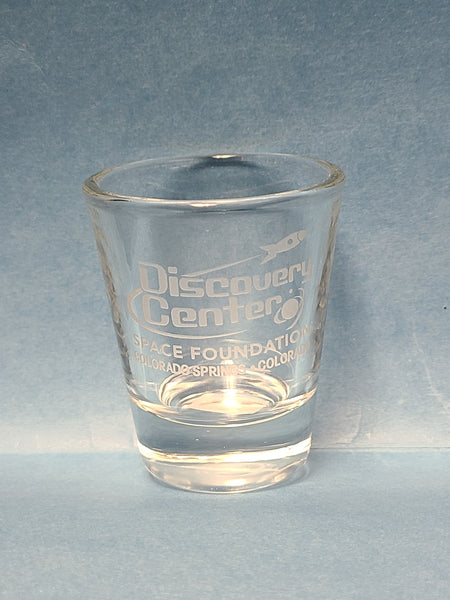 Discovery Center Shot Glass